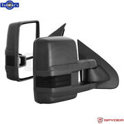 Spyder Power Heated Driver And Passenger Side Towing Mirrors For 14-16 Silverado