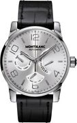 Hard To Find Timewalker Retrograde7142. Stunning Silver Dial