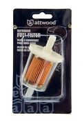 Attwood 12562-6 Universal 40-micron Outboard Engine Marine Fuel Filter