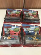 Disney Cars Super Chase Wgp Racers X4 Russian China Mexico Sweeden Diecast 155