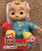 Cocomelon Plush Musical Bedtime Jj Doll And Teddy Bear Youtube Sings