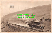 R505928 Up Glasgow Euston Express On Tebay Water Troughs. Engines Bacchus And An