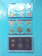 3 1985 United States Mint Annual Coin Proof Sets Denver Philadelphia And S