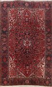 Vintage Geometric Traditional Area Rug Oriental Home Decor Hand-knotted 9x12 Ft