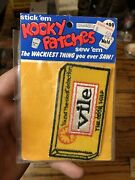1973 Kooky Patches Vile In Unopened Pack A Wacky Packages Spin Off