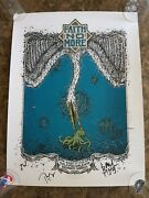 Faith No More Signed Poster Bucharest 2009 Full Band 18x24