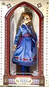 """Anna 17"""" Doll Olaf's Frozen Adventure Limited Edition Xx/7000 Case Included"""