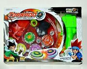 Spin Metal Master Fusion Rapidity Fight Battle Beyblade Launcher Grip Kids Gift