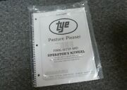 Tye 104-3208 Pasture Pleaser No-till Drill Final Setup And Owner Operator Manual