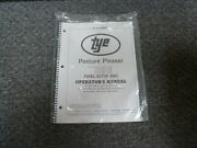 Tye 104-4508 Pasture Pleaser No-till Drill Final Setup And Owner Operator Manual