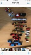 Thomas Wooden Railway Railroad Wood Curved Train Tracks Lot Toy Game Play Set -