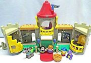 Fisher-price Little People Kingdom Castle King Queen Dragon Horse Jester Sounds
