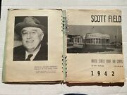 1942 Wwii Scott Field Army Air Corps Radio University Picture Book