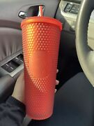Starbucks 2020 Matte Red Studded Tumbler. Brand New. Ships In A Box. Sold Out