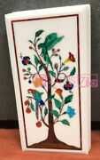 Marble Top Dining Table Cum Wall Panel Parrot Theme Pietra Dura Monopoly Design