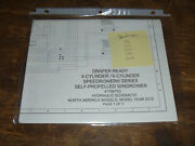 New Holland Speedrower 200 Draper Windrower Hydraulic Schematic Diagram Manual