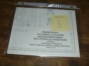 New Holland Speedrower 260 Draper Windrower Hydraulic Schematic Diagram Manual