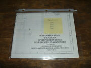 New Holland Speedrower 200 220 Windrower Non Hydraulic Schematic Diagram Manual