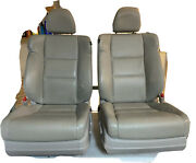 09-14 Acura Tsx Very Clean Front Driver And Passenger Power Seats. Color Beige.