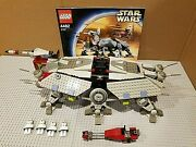 Lego Star Wars Set 4482 At-te Complete Minifigs Manual New