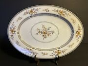 Mikasa - Chippendale - 15andrdquo Oval Serving Platter - Excellent