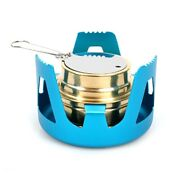 10xduty Brass Alcohol Stove Burner With Aluminum Alloy Stand Lid