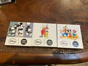 Coin 10 Euro France 2016 To 2018 Argent Disney Mickey Picsou Mickey Friends