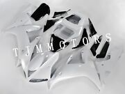 For 2002-2003 Yzf R1 Abs Injection Mold Bodywork Fairing Kit Plastic Pearl White