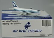 1200 Inflight / Jc Wings Air New Zealand Boeing 737-200 Zk-nas Rare Sold Out