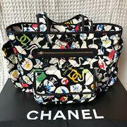 New Tote Shoulder Hand Bag Wallet Multicolor Animal Print Terry Quilted