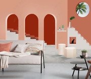 3d Palm Tree Arch Step Self-adhesive Removeable Wallpaper Wall Mural Sticker 344