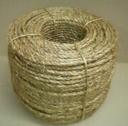 3/8 Treated Manila Rope Cut To Length .10 Per Foot Crafts Work Farm Dock New