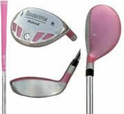 Pink Hybrid Clubs Choose 2 To Lw Taylormade Callaway Idrive Graphite Shaft