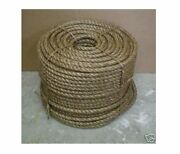 5/8 X 600and039 Treated Manila Rope Docks Tree Work Dock Farm Nautical Crafts Rodeo