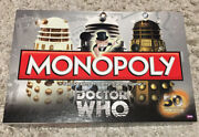 Monopoly Dr. Who Edition 50th Anniversary Collector's Edition New Open Box