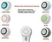4pack Facial Brush Head Replacements Mia123 Fit Aria Smart Fits All Clarisonic