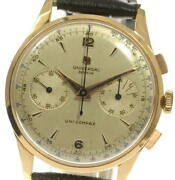 Universal Geneve Antique Cal.285 Chronograph Hand Winding Menand039s Watch_546436