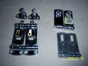 Lot Of Chrome Heavy Duty Bass Boat Compartment Lid Hasps.