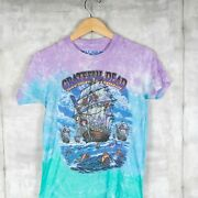 Grateful Dead Band Liquid Blue T-shirt Size Small Tie Dyed Ship Of Fools