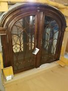 Bernhardt Arched Top China Cabinet Complete Top And Base Free Shipping Most Usa