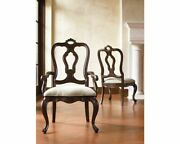 Thomasville Hills Tuscany San Martino Dining Chair Set Of 6 - 2 Arm And 4 Side