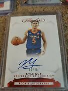 Kyle Guy Panini Flawless 2019-2020 Ruby Red /20 On Card Autograph Rookie. 1/20