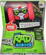 Really Rad Robots - Electronic Remote Control Robot With Voice Command - Turbo