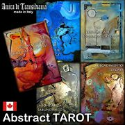 Abstract Art Tarot Card Cards Deck Vintage Oracle Esoteric Instructions Book Set
