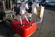 Rare Coin Operated -twin- Horse Restored