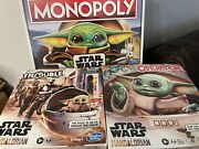 Star Wars The Child Baby Yoda Mandalorian Monopoly Trouble And Operation Lot