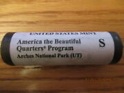 Us Mint 2014 S Atb Quarters Arches Utah Ut Roll Not Bank Roll Aw6