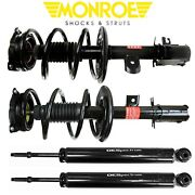 Monroe Quick Struts And Shock Absorber Front Rear Kit For Nissan Murano 2009 2010