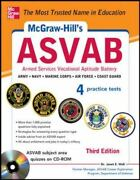 Mcgraw-hill's Asvab By Janet E. Wall 2013, Cd-rom / Trade Paperback