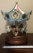 Beautiful San Francisco Music Box Co Limited Edition Carousel 1,999 Of 3,500